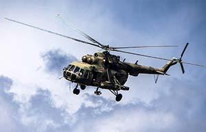 Звук вертолета