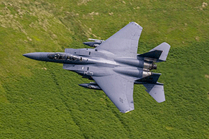 F-15 преодоление звукового барьера — звук