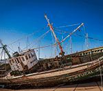 Скрип старого корабля от ветра