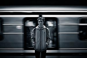 Звук крушения поезда