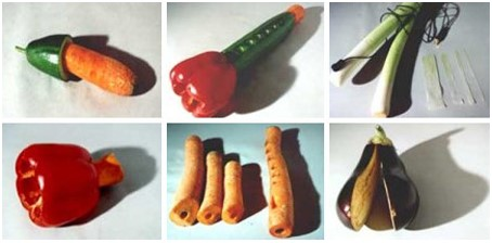 Музыкальные инструменты из овощей