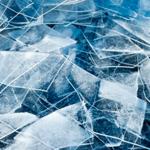 Треск льда звук тонких пластин льда, лежащих друг на друге