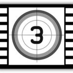 """Кадр с цифрой три — иллюстрация к публикации """"Звуки обратного отсчета"""""""