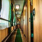 Звук поезда в вагоне